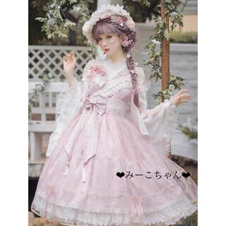 metamorphose temps de fille - 桜色の恋 和装JSKフルセット 和ロリ しゅくれどーる ロリィタ ロリータ