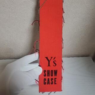 ヨウジヤマモト(Yohji Yamamoto)の【非売品】Y's show case キーホルダー(キーホルダー)