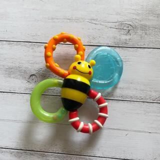 サッシー(Sassy)のおもちゃ sassy 歯固め バンブル バイツ ファン ラトル ガラガラ(がらがら/ラトル)