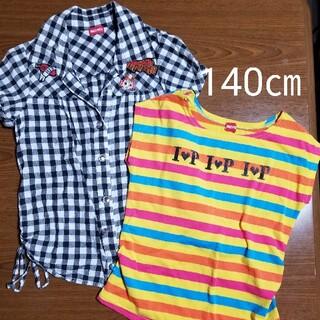 インナープレス(INNER PRESS)のインナープレス シャツセット 140㎝(Tシャツ/カットソー)