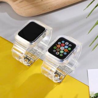 アップル(Apple)のアップルウォッチ クリアバンド(腕時計)
