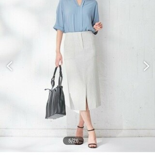 ICB 11号サイズ 麻混スカート