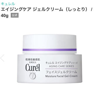 Curel - エイジングケア ジェルクリーム(しっとり) / 40g