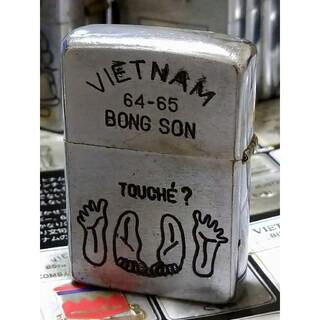 ジッポー(ZIPPO)の【ベトナムZIPPO】本物 1972年製ベトナムジッポー ヴィンテージ(タバコグッズ)