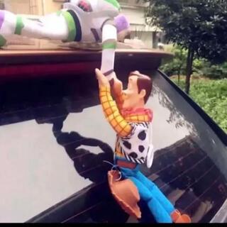 ディズニー(Disney)の再入荷❤️ウッディー&バズのカーアクセサリー❤️即送(車外アクセサリ)