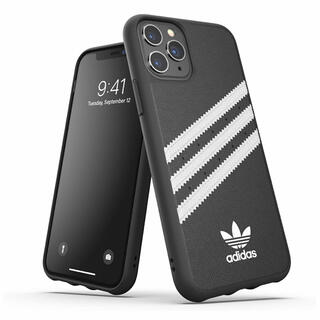アディダス(adidas)のアディダス iPhone11Pro ケース 3ストライプス 黒 新品【匿名配送】(iPhoneケース)