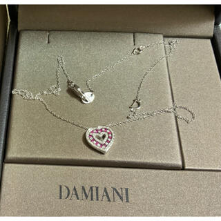 Damiani - 【美品】ダミアーニ ベル エポック ネックレス ハート ルビー ダイヤモンド