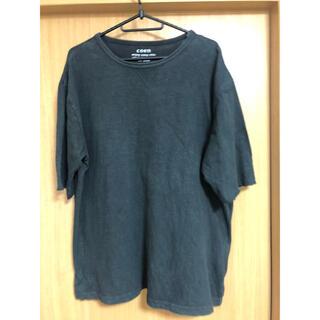 コーエン(coen)のコーエン ガゼットスラブ5分袖 Tシャツ(Tシャツ/カットソー(半袖/袖なし))