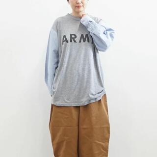 フレームワーク(FRAMeWORK)のsunny side up  SHIRT SLEEVE ARMY T (Tシャツ/カットソー(七分/長袖))