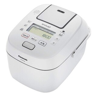Panasonic - パナソニック 炊飯器 5.5合 圧力IH式 おどり炊き  SR-PB109-W