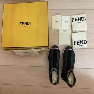 FENDI - 新品未使用 FENDI ソックスブーツ ソックススニーカー