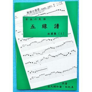 民謡♪五線譜~上級編(1)/紅葉集(1)~I7 楽譜/うたい方/練習/上達(尺八)