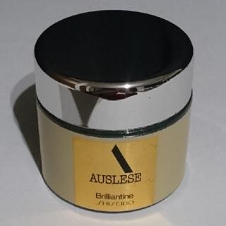 アウスレーゼ(AUSLESE)の油性ポマード☆アウスレーゼ ブリランチンN(80g)資生堂 日本製 ガラス瓶(ヘアワックス/ヘアクリーム)