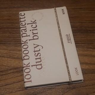 アモーレパシフィック(AMOREPACIFIC)の【値下げ】 espoirアイシャドウ LOOK BOOK:DUSTY BRICK(アイシャドウ)