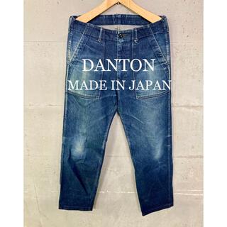 ダントン(DANTON)のDANTON デニムパンツ!日本製!ペインターパンツ!(デニム/ジーンズ)