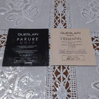 ゲラン(GUERLAIN)のゲラン ファンデーション 2種類試供品セット(ファンデーション)