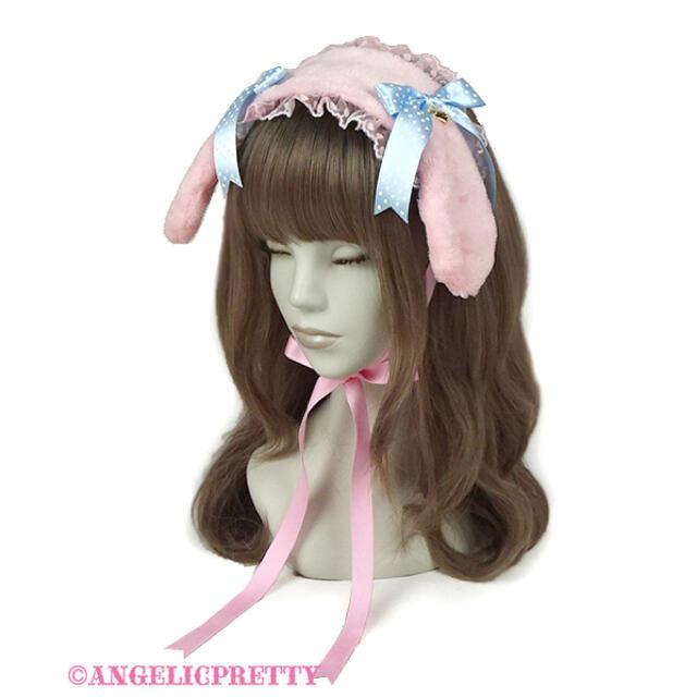 Angelic Pretty(アンジェリックプリティー)のロップイヤーBunnyヘッドドレス レディースのヘアアクセサリー(カチューシャ)の商品写真