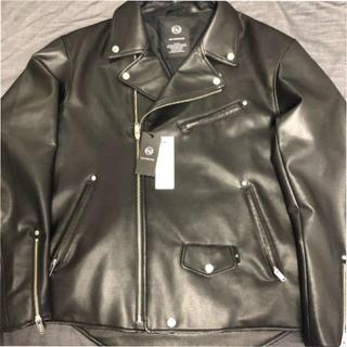 ジーユー(GU)のgu アンダーカバー フェイクレザージャケット XL UNDERCOVER(ライダースジャケット)