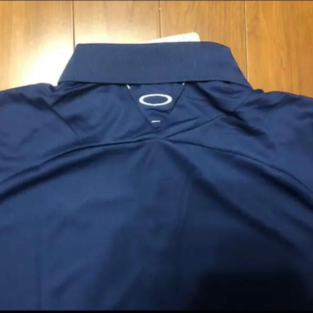 Oakley(オークリー)のオークリー長袖ポロシャツ XLサイズ スポーツ/アウトドアのゴルフ(ウエア)の商品写真