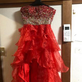 エンジェルアール(AngelR)のエンジェルアール 豪華ドレス 赤 美品(ロングドレス)