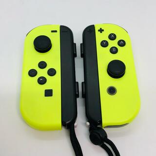 ニンテンドースイッチ(Nintendo Switch)のJoy-Con(ネオンイエロー)(その他)