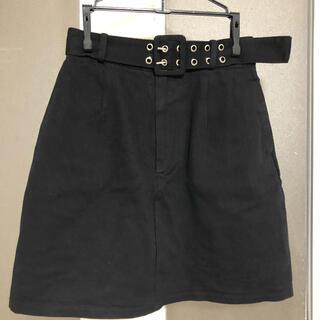 エモダ(EMODA)のエモダ  スカート 黒(ミニスカート)