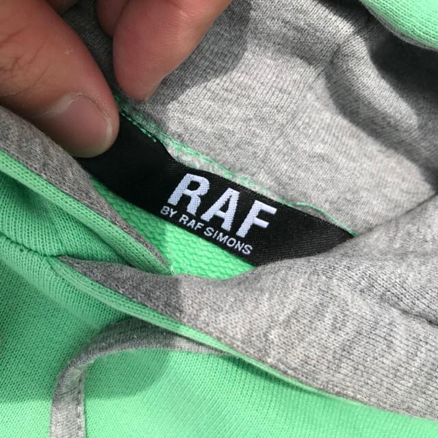 RAF SIMONS(ラフシモンズ)のRAF BY RAFSIMONS ラフシモンズ プルオーバー  パーカー メンズのトップス(パーカー)の商品写真