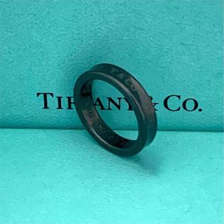 Tiffany & Co. - Tiffany チタン リング ブラック