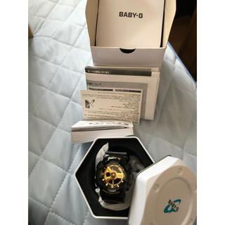 ベビージー(Baby-G)のBABY-G 腕時計 金×黒(腕時計)