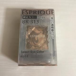 ESPRIQUE - 【限定カラー】ESPRIQUE エスプリーク セレクト アイカラー BR313