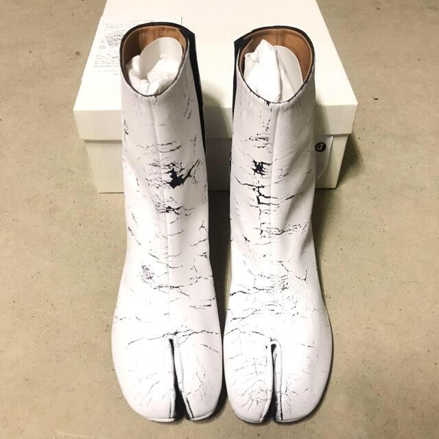 Maison Martin Margiela(マルタンマルジェラ)の20ss メゾン マルジェラ ペイント 足袋ブーツ 新品未使用 レディースの靴/シューズ(ブーツ)の商品写真