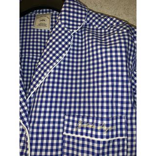 gelato pique - ジェラピケ  ギンガムチェックシャツ パジャマ ルームウェア  ジェラートピケ