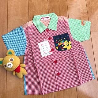 mikihouse - ★ミキハウス★レトロで可愛い★カラフルシャツ★80★新品★