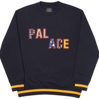 シュプリーム(Supreme)のPalace skateboard Pal Pal Crew Black(スウェット)