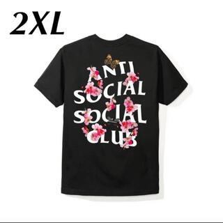 """アンチ(ANTI)のAnti Social Social Club""""Kkoch Black Tee(Tシャツ/カットソー(半袖/袖なし))"""