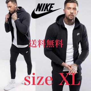 NIKE - 【新品】NIKE ナイキ フレンチテリー セットアップ 上下セット 黒 XL