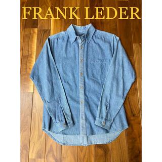 フランクリーダー(FRANK LEDER)のFRANK LEDERフランクリーダー!デニムシャツインディゴブルー(シャツ)