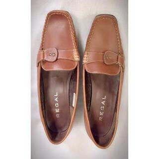 REGAL - REGAL リーガル 靴 22.5 レディースフラットシューズ 本革ローファーS