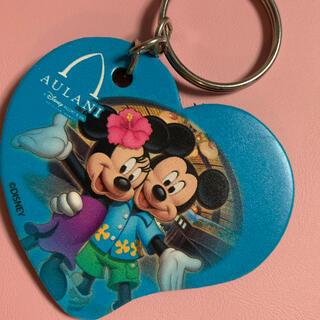 ディズニー(Disney)のアウラニ ディズニー リゾート ミッキー  ミニー キーホルダー(キーホルダー)