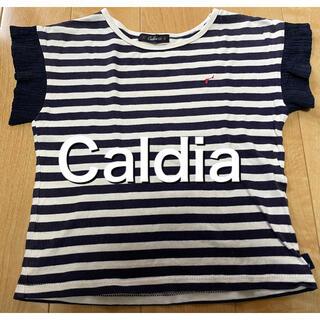 カルディア(CALDia)のカルディア ボーダー半袖Tシャツ 100サイズ(Tシャツ/カットソー)
