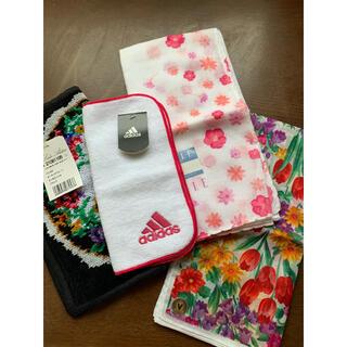 アディダス(adidas)のハンカチ 手縫い(ハンカチ)