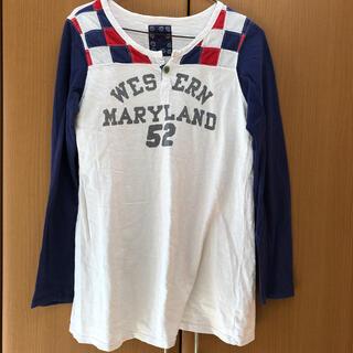 オールドベティーズ(OLD BETTY'S)のOLD BETTY'S  Aラインチュニック(Tシャツ(半袖/袖なし))