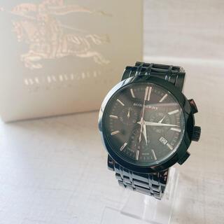 BURBERRY - ✨期間限定価格✨美品Burberryバーバリー 腕時計クロノグラフBU1373