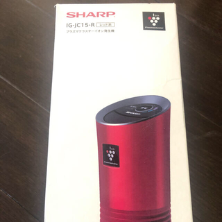 シャープ(SHARP)のプラズマクラスターイオン発生機(車内アクセサリ)