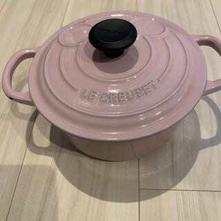 ルクルーゼ(LE CREUSET)のル・クルーゼ 鍋 ミッキー 18 used(鍋/フライパン)