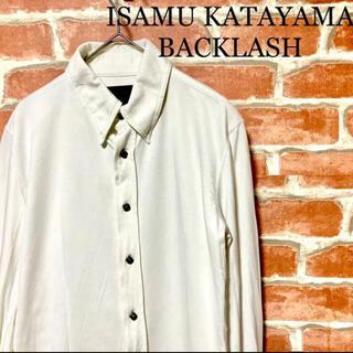 イサムカタヤマバックラッシュ(ISAMUKATAYAMA BACKLASH)の‼️BACKLASH‼️イサムカタヤマバックラッシュ シャツ 長袖 シープレザー(シャツ)