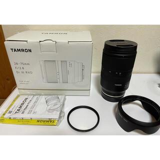 TAMRON - タムロン 28-75 F2.8ソニーEマウント用(フルサイズ対応)