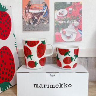 marimekko - マリメッコ marimekko マンシッカ マグカップ ラテマグ