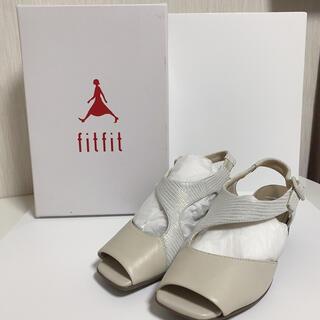フィットフィット(fitfit)の23.5cm fitfit NEWモダニスティックサンダル(サンダル)
