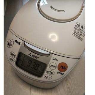 三菱 - 炊飯器 三菱 5.5合 NJ-NH106-W